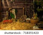 village | Shutterstock . vector #718351423