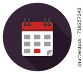 calendar icon. illustration in...