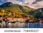 lake como  menaggio  italy.... | Shutterstock . vector #718430227