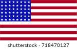 vector illustration flag of... | Shutterstock .eps vector #718470127