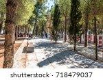 canakkale martyrs' memorial is...   Shutterstock . vector #718479037