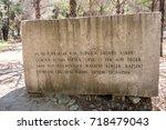 canakkale martyrs' memorial is...   Shutterstock . vector #718479043