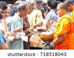 nakhonsithammarat thailand...   Shutterstock . vector #718518043