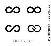 the infinity | Shutterstock .eps vector #718606723
