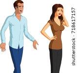 vector illustration of a... | Shutterstock .eps vector #718617157