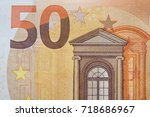 Closeup Of The Fifty Euro...