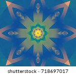 abstract background gloomy... | Shutterstock . vector #718697017