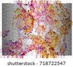 abstract background. spotted... | Shutterstock .eps vector #718722547