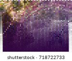 abstract background. spotted... | Shutterstock .eps vector #718722733