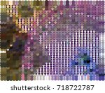 abstract background. spotted... | Shutterstock .eps vector #718722787