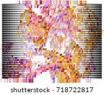 abstract background. spotted... | Shutterstock .eps vector #718722817