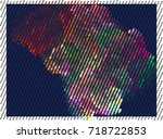 abstract background. spotted... | Shutterstock .eps vector #718722853