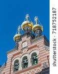 Small photo of The Alexander Nevsky Church is the only Russian Orthodox church in Copenhagen. It was built by the Russian Government. The church is dedicated to the Russian patron saint Alexander Nevsky.