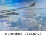 editorial use only  view from... | Shutterstock . vector #718836427
