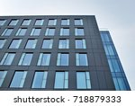 modern office building | Shutterstock . vector #718879333