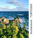 punta sur. isla mujeres. | Shutterstock . vector #718913263