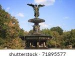 Bethesda Fountain In Central...