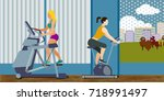 sport set | Shutterstock .eps vector #718991497