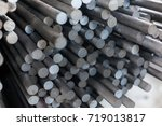 Round Rolled Steel Stored In...