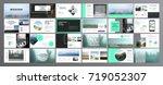 original presentation templates ... | Shutterstock .eps vector #719052307