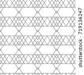 rhombus seamless pattern....   Shutterstock . vector #719136247