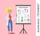methods of contraception....   Shutterstock .eps vector #719168467