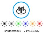 community rounded icon. style... | Shutterstock .eps vector #719188237