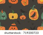 hand drawn vector abstract... | Shutterstock .eps vector #719200723