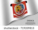 waving flag of oaxaca is a...