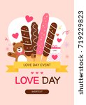 love event illustration | Shutterstock .eps vector #719229823