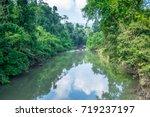 deep forest at haew narok... | Shutterstock . vector #719237197