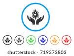 biotechnology care hands...   Shutterstock .eps vector #719273803