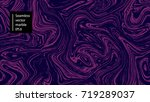 seamless abstract marble... | Shutterstock .eps vector #719289037