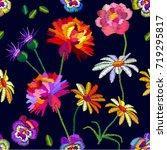 nostalgia vintage garden.... | Shutterstock .eps vector #719295817