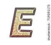 sparkling vintage printed... | Shutterstock . vector #719351173