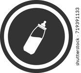 bottle of milk for baby icon ....   Shutterstock .eps vector #719391133