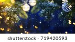 christmas decoration  | Shutterstock . vector #719420593
