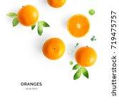 Creative Layout Made Of Orange...