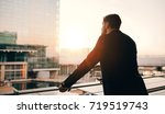 rear view shot of young... | Shutterstock . vector #719519743