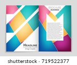 abstract vector layout... | Shutterstock .eps vector #719522377