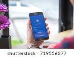 chiang mai  thailand  ... | Shutterstock . vector #719556277