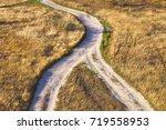 the intersection of the paths. | Shutterstock . vector #719558953