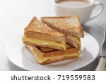 Grilled Cheese Sandwich Of...