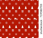 merry christmas new year... | Shutterstock .eps vector #719580703
