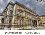 the city assembly terrace... | Shutterstock . vector #719601577
