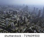 central tel aviv  habima... | Shutterstock . vector #719609503