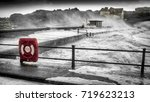storm at freshwater bay  isle... | Shutterstock . vector #719623213