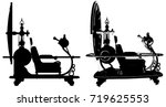 time machine vector 01 | Shutterstock .eps vector #719625553