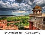 agra fort | Shutterstock . vector #719633947