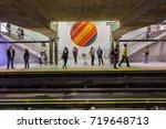 montreal  canada   august 13 ...   Shutterstock . vector #719648713